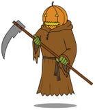 Death Angel Pumpkin stock illustration