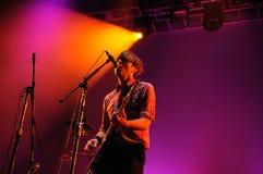 Death Cab For Cutie (American alternative rock band) concert at Primavera Sound Festival Stock Image