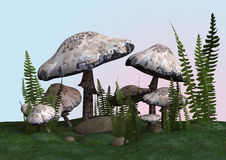 Death Cap Stock Photo