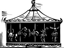 Death Carousel Royalty Free Stock Photos