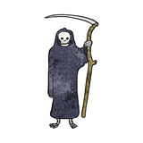 death cartoon Royalty Free Stock Photography