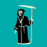 Death Character Vector Illustration Stock Image