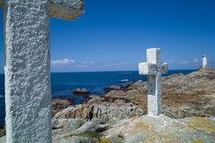 The death coast in Galicia Royalty Free Stock Photo
