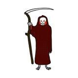 death comic cartoon Royalty Free Stock Photo