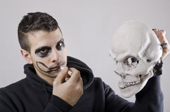 Death costume Royalty Free Stock Photography