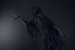 Death daemon. Perfomance photography session witj new characters Royalty Free Stock Images