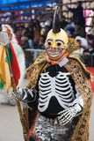 Death Dancer at Oruro Carnival in Bolivia Royalty Free Stock Image