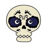 Death day mask celebration. Vector illustration design royalty free illustration