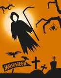 Death Halloween Stock Photography