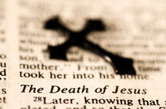 The Death of Jesus.. stock photos