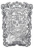 death Major Arcana Tarot Card Illustration de Vecteur