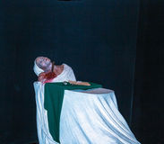Death of Marat  at one of halls of historical part of  Madame Tussauds museum in London. Stock Photography