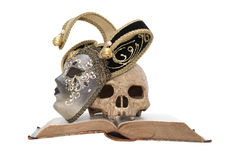 Death And Mask Stock Photo