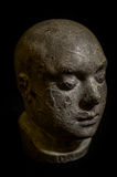 Death Mask. Victorian plaster cast death mask heads Royalty Free Stock Image