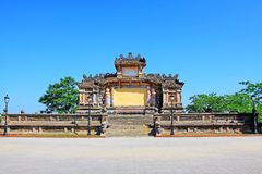 Bia Quoc Hoc, Hue Vietnam Royalty Free Stock Images