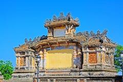 Bia Quoc Hoc, Hue Vietnam Stock Images