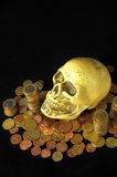 Death and Money Concept Stock Photo