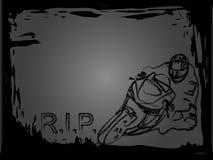 Death motobiker Stock Photos