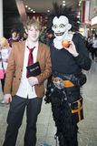 Death Note cosplayers Stock Image