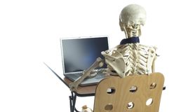 Death by Overwork 6 royalty free stock photo