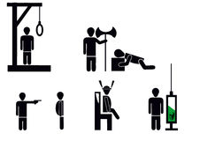 Death penalty Stock Photos