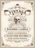 Death Pirate Invite Stock Images