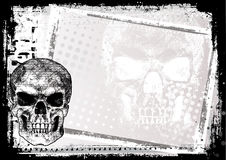 Death poster background 2 Royalty Free Stock Images