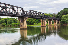 Death railway bridge Stock Image