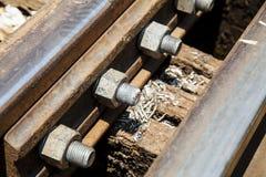 The death railway bridge. The death railway bridge repairs.Tham krasae Kanchanaburi Thailand Stock Images