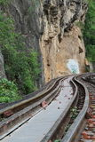 Death railway at River Kwai Stock Images