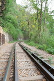 Death railway at River Kwai Royalty Free Stock Photo
