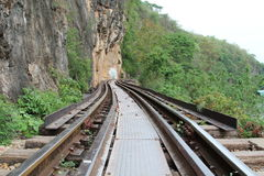 Death railway at River Kwai Royalty Free Stock Photos