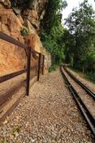 Death railway. In Thailand Royalty Free Stock Photos