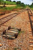 Death railway. In Thailand Royalty Free Stock Images