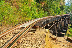 Death Railway Stock Photography