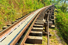 Death Railway Stock Images
