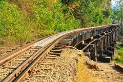 Death Railway Stock Photography