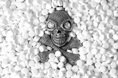 Death's-head. Stock Photos