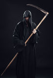 Death with scythe standing Stock Photography