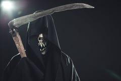 Death with scythe Stock Image