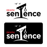 Death sentence. Crime court gallows rope loop hangman Stock Images