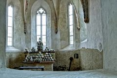 Death, Skull, Skeleton, Church Royalty Free Stock Photos