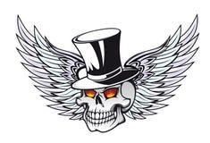Death skull tattoo Stock Photos