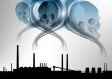 Death smoke Stock Image