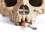 Death Smoker Stock Photo