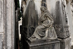 Death statue Stock Image