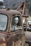 Death travels with Stock Image