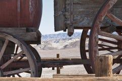 Death Valley无盖货车 库存照片