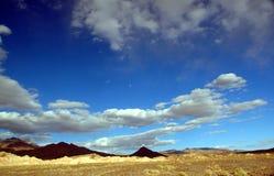 Death Valley横向 免版税库存照片