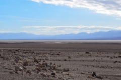Death Valley - бесконечная пустыня стоковая фотография